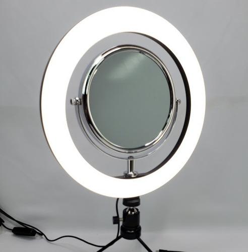 aro de luz para maquillaje de 10 pulgadas