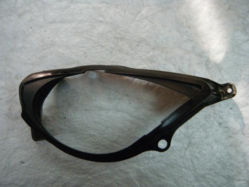 aro de plastico del faro lado izquierdo de zx6r 07 08 zx6 zx
