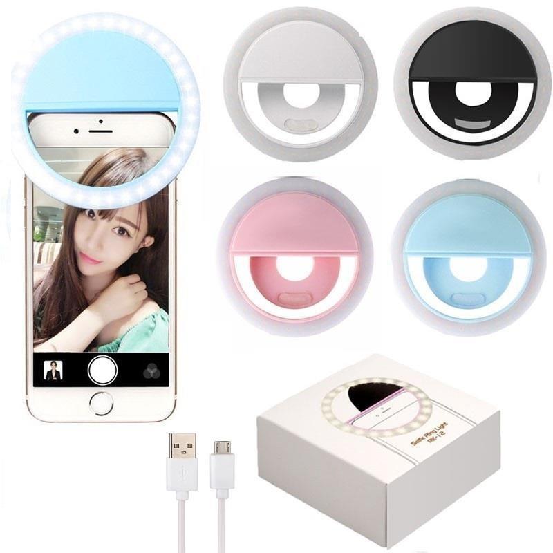 Selfies iPhone Lampara Para Aro Para Led Celular Luz Android k0XwnOP8