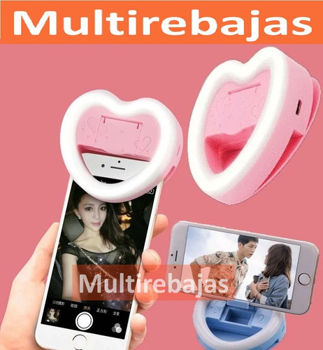 aro luz led ring selfie para celulares