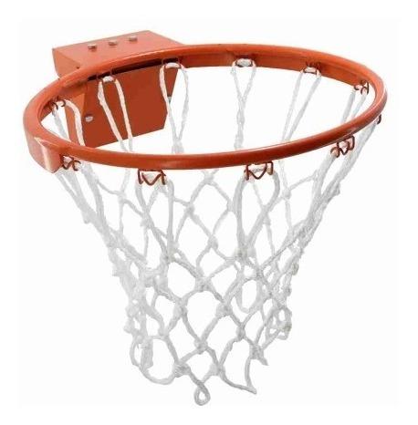 aro oficial de basquete - retrátil (com 3 molas) e com rede