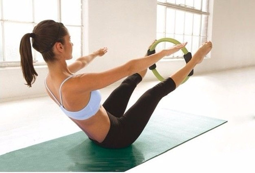 aro para ejercicio yoga pilates y fitness ring diametro 39cm
