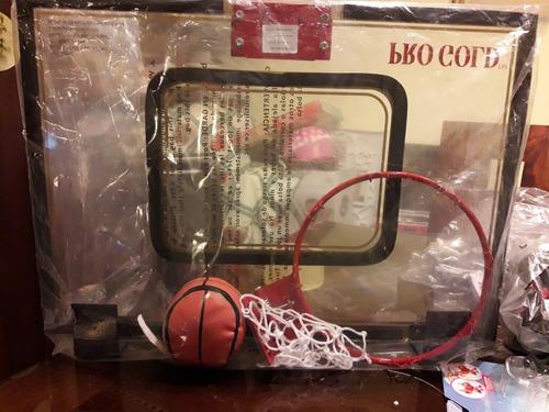 aro para muro de basquetball