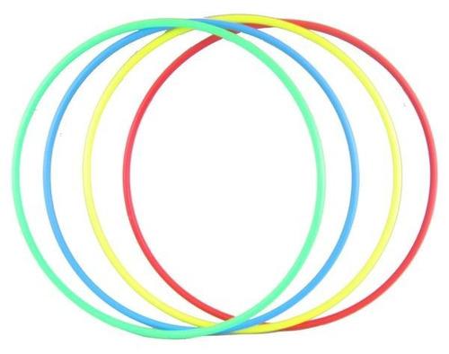 aro plástico 80 cm pvc aros hula hula gimnasia rítmica