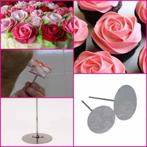 aro redondo 5 pçs+ bailarina +bicos 24 pçs +suporte de rosas