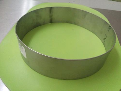 aro redondo reposteria 20 cm