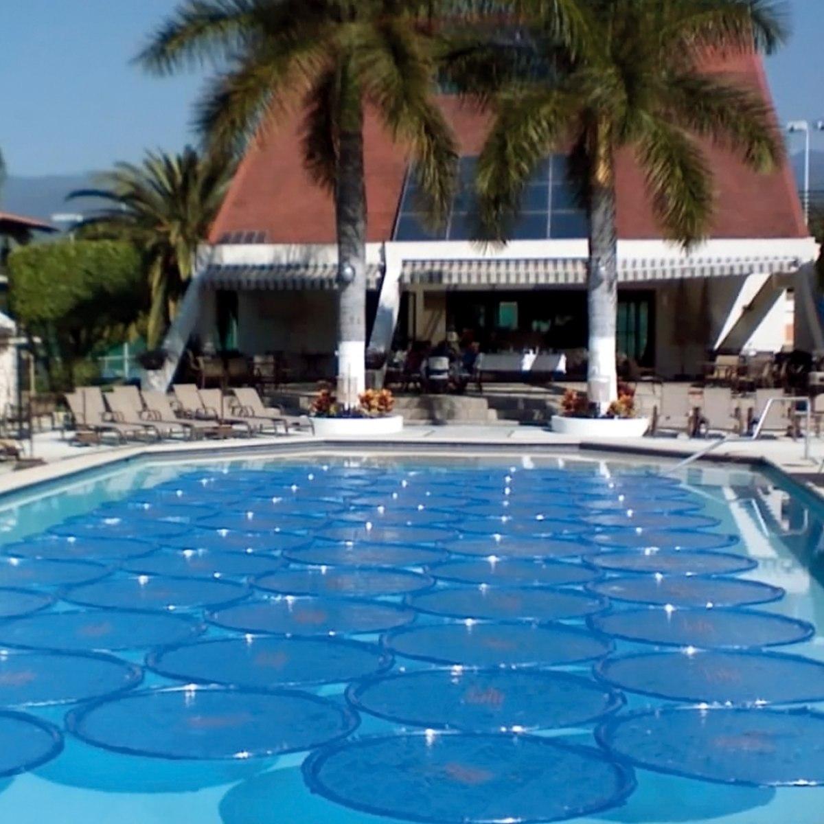 Aro solar inflable para albercas y piscinas en for Resbaladilla para alberca