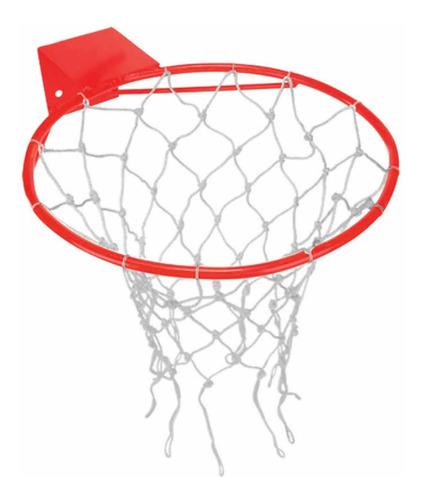 aro tabela de basquete klopf semi oficial com rede