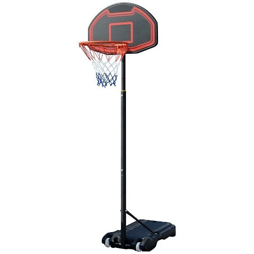 aro tablero basketball completo pie base hasta 210cm en loi