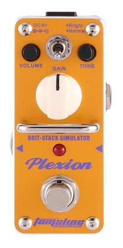 aroma apn-3 plexion brit-stack - pedal de efecto de sonido,