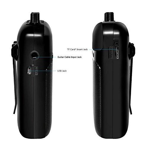 aroma mini portátil 5w guitarra amplificador /...
