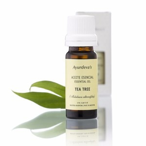 aromaterapia aceite esencial arbol de te ( tea tree ) deva´s