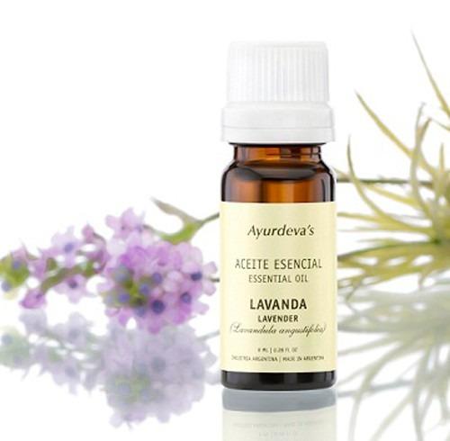aromaterapia aceites esenciales puros lavanda y hornito