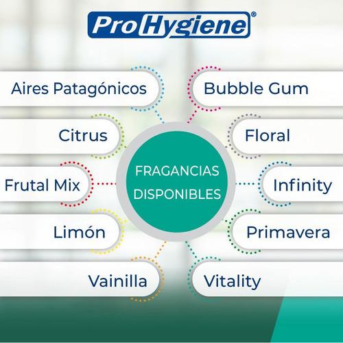 aromatización de ambientes prohygiene