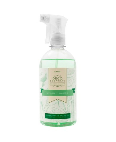 aromatizador ambiental bagues 500 ml + gatillo