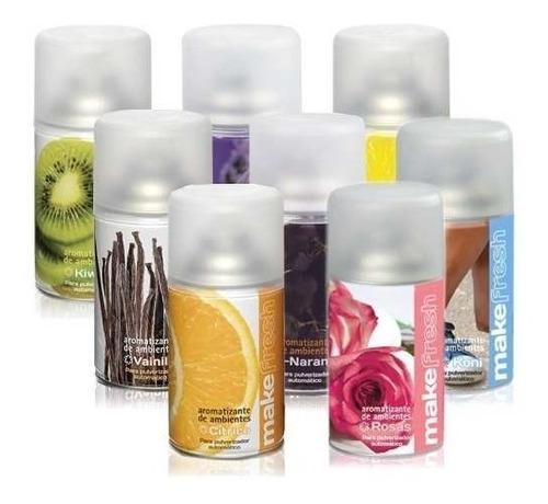 aromatizador automatico + fragancia make fresh a eleccion