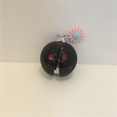 aromatizador cheirinho p/ carro joaninha vermelha preta rosa