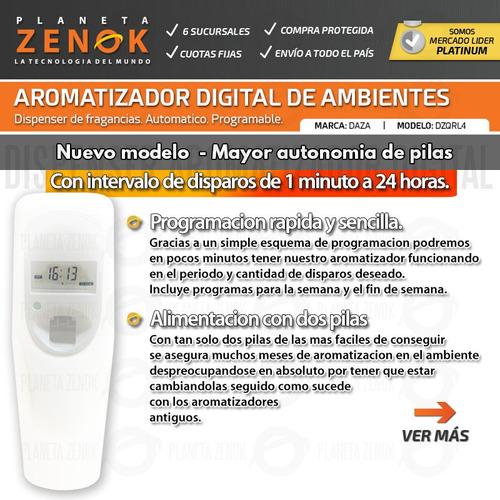aromatizador digital automatico de ambiente programable