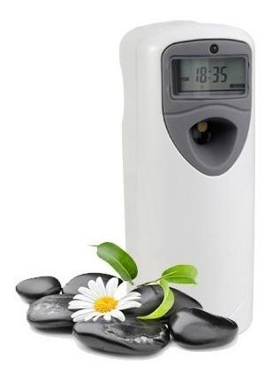 aromatizador digital programable + repuesto + pilas