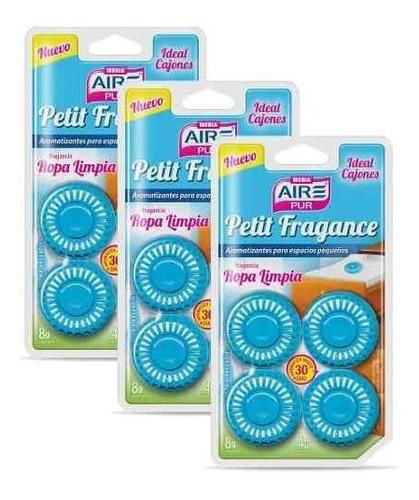 aromatizador espacios pequeños y cajones aire pur 3 blisters