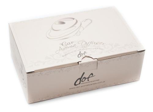 aromatizador exclusivo para autos dof. fragancias premium