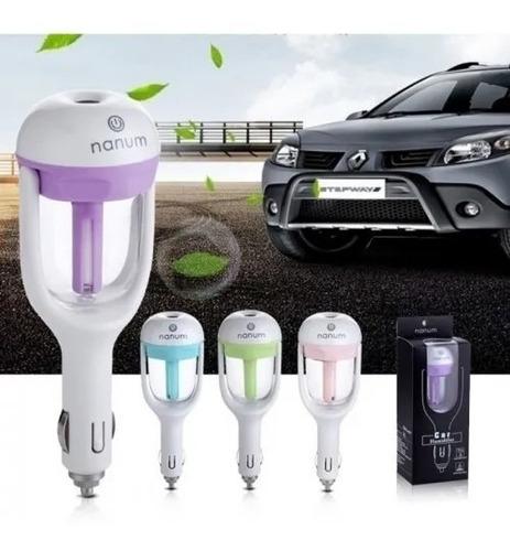 aromatizador humidificador para carro con usb aromaterapia