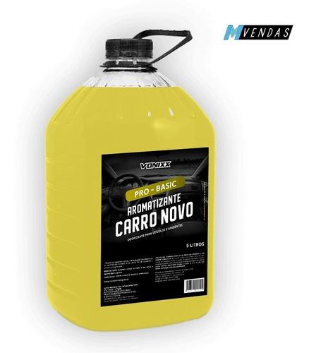aromatizante cheirinho aroma de carro novo 5 litros vonixx