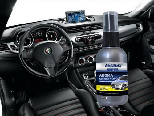 aromatizante cheirinho spray carro novo 60ml vonixx