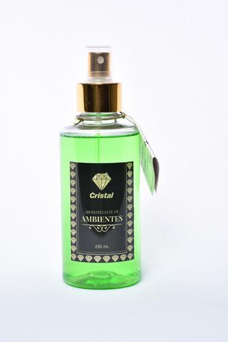 aromatizante de ambientes spray cristal 250 ml