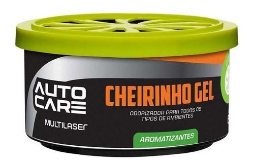 aromatizante multilaser  gel autocare au439 citrus 60g pote
