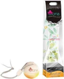 aromatizante ona caixa fechada 5 aromas perfume p/carro 15pç