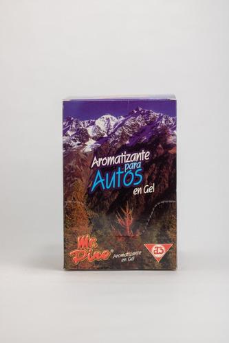 aromatizante para autos mr. pino - caja