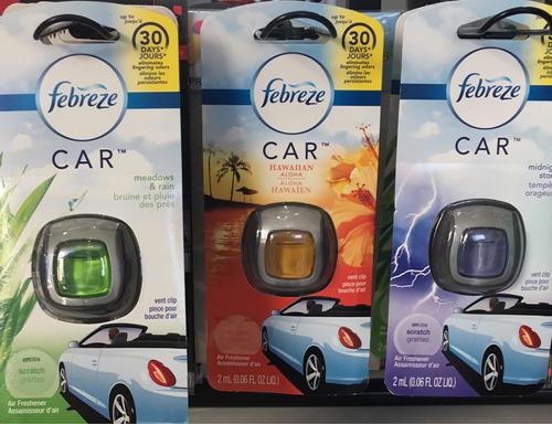 aromatizante para veículos febreze car desodorizador auto
