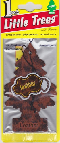 aromatizante pino auto  leather
