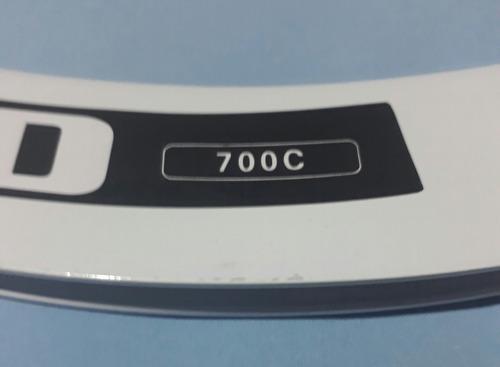 aros 700 de aluminio perfil 50mm