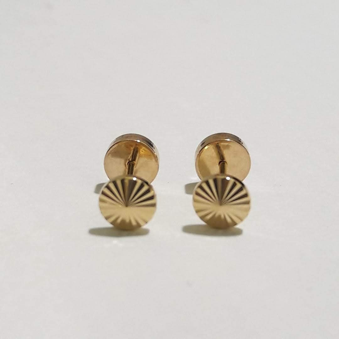 6b6a5109eb03 aros abridor bebe de oro 18 kts facetado con perla. Cargando zoom.