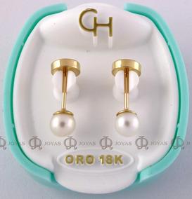 24979aa48400 Aros Abridores De Oro 18k Perlas Cultivadas Ch en Mercado Libre Argentina