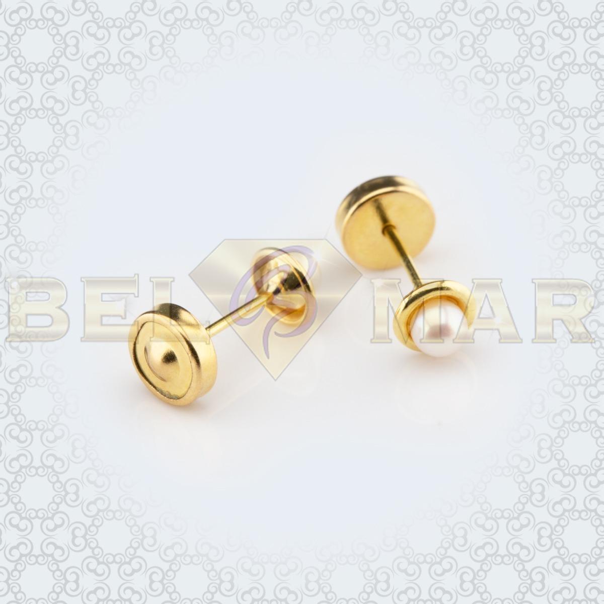 8289421ca48d aros abridores lili oro 18k perla cultivada 3mm. Cargando zoom.