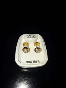 31092bc48b44 Aros Abridores De Oro 18k Facetados - Aros en Mercado Libre Argentina