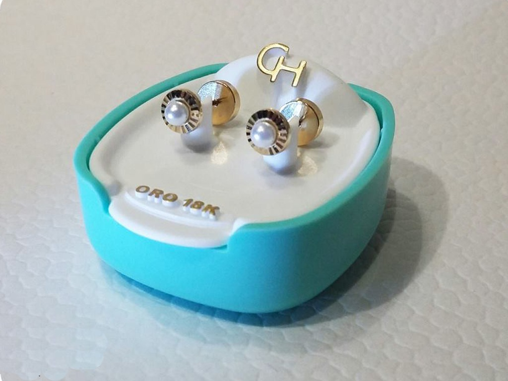 b545bc04acc4 aros abridores oro 18k facetado perla cult sellos y garantía. Cargando zoom.