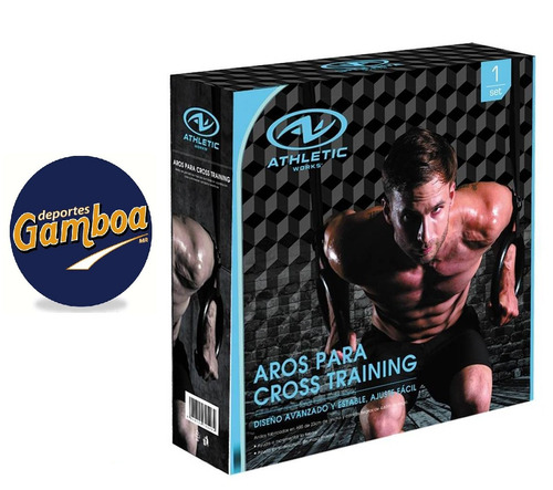 aros anillos para crossfit, training, gimnasia ¡envío gratis
