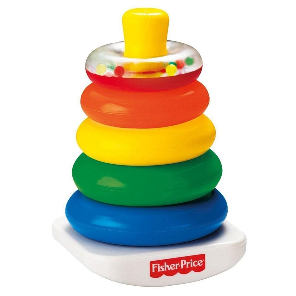 Aros apilables fisher price juguetes para beb s croak - Juguetes para bebes de 2 meses ...