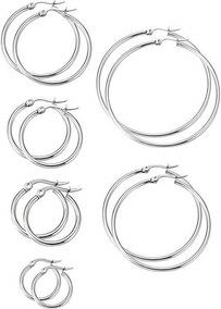 b11b6b43a14e Set Aros Argollas Acero Quirurgico - Joyas y Relojes en Mercado Libre  Argentina
