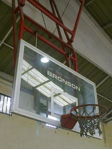 aros basketball estructura movible marca bronson