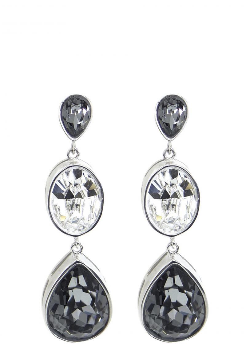 22824a4499de Aros Creado Con Cristales De Swarovski ® Kr0129-00 Krystalia ...