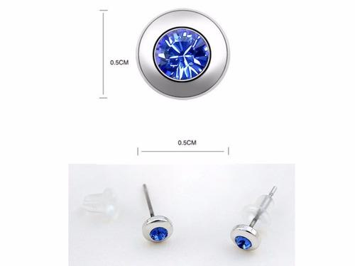 aros cristal austriaco estilo swarosvki elements 6 x 25.000