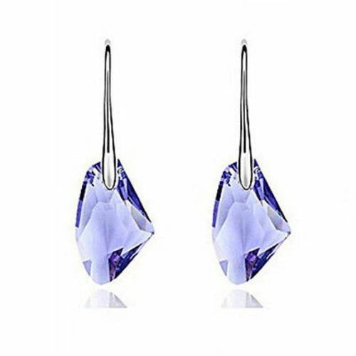 aros cristal swaroski irregular