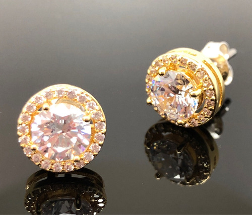aros cristal swarovski austriacos oro blanco novias garantia