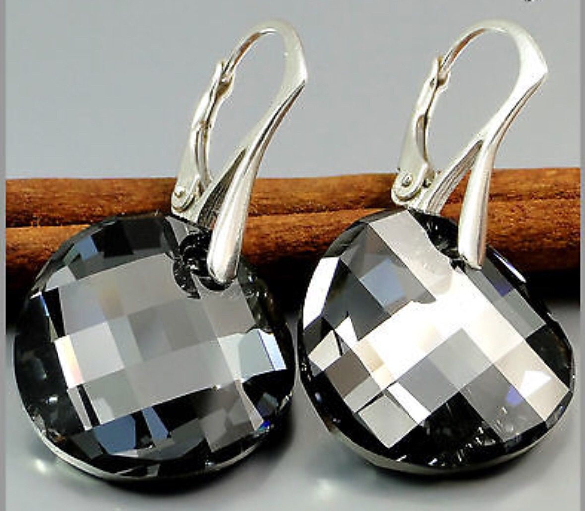 f744878627f5 aros cristal swarovski plata 925 italia garantia certificado. Cargando zoom.