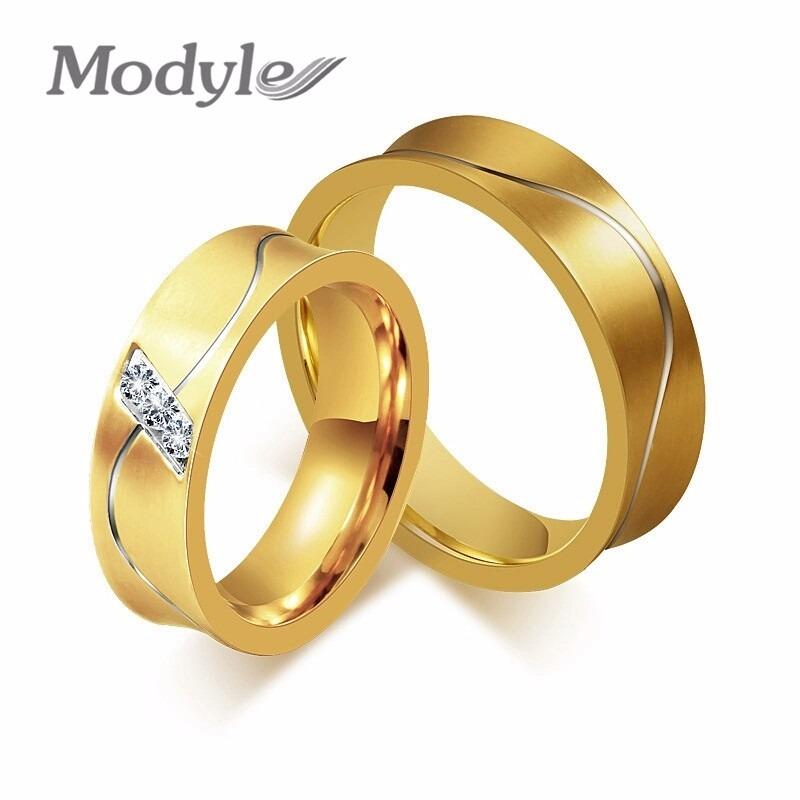 c037a2101a7c aros de boda oro 18k con cristales plata 950 amor anillos. Cargando zoom.
